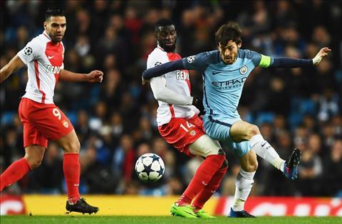 Man City vs Monaco Bakayoko va Silva