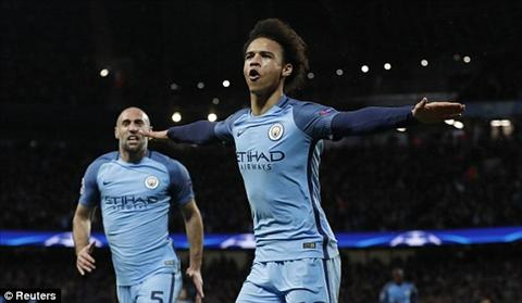 Tong hop: Man City 5-3 Monaco (Vong 1/8 Champions League 2016/17)