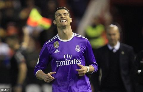 Tong hop: Valencia 2-1 Real Madrid (Da bu vong 16 La Liga 2016/17)