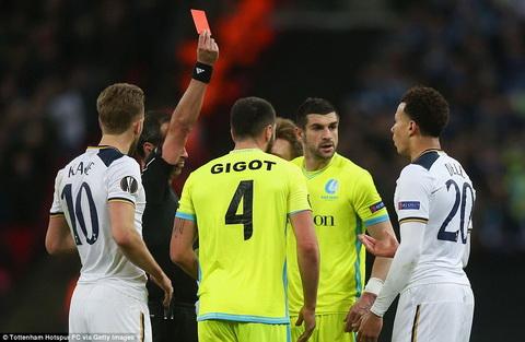 Tottenham 2-2 (2-3) Gent Dele Alli dua Ga trong ra khoi Europa League hinh anh
