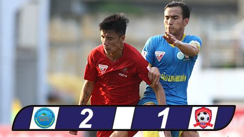 Tong hop Khanh Hoa 2-1 Hai Phong (Vong 7 V-League 2017) hinh anh