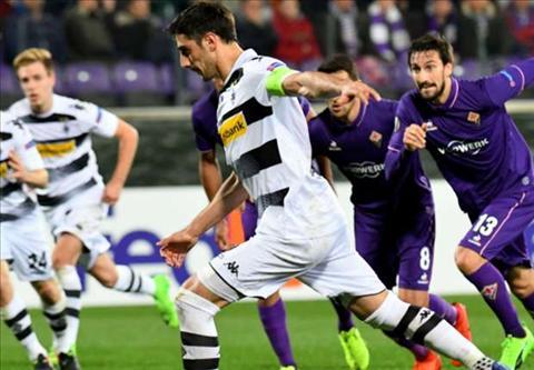 Tong hop: Fiorentina 2-4 M'Gladbach (Vong 1/16 Europa League 2016/17)