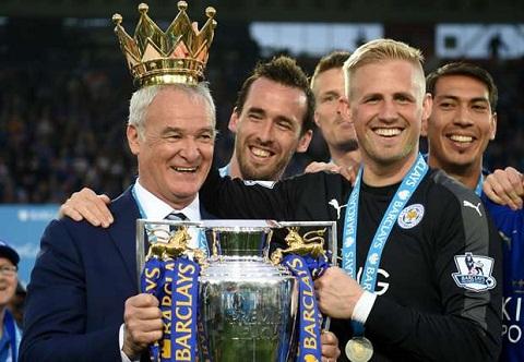 Thu mon Kasper Schmeichel tri an Ranieri hinh anh 2