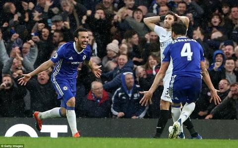 HLV Conte Pedro cung dang cap voi Hazard va Costa hinh anh