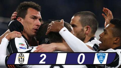 Juventus 2-0 Empoli: Bang bang ve dich