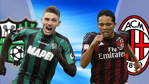 Nhan dinh Sassuolo vs AC Milan 21h00 ngay 262 (Serie A 201617) hinh anh
