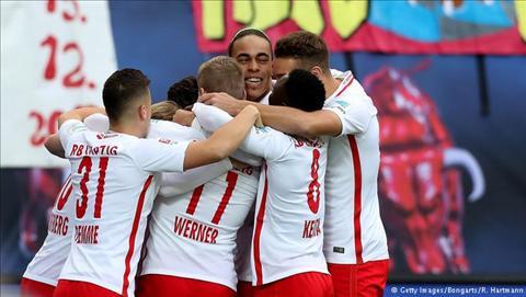 Tong hop: RB Leipzig 3-1 Cologne (Vong 22 Bundesliga 2016/17)