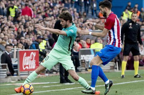 Atletico 1-2 Barca Chien thang cua Messi, khong phai phan con lai! hinh anh