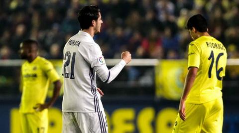Real Madrid co man loi nguoc dong an tuong truoc Villareal.