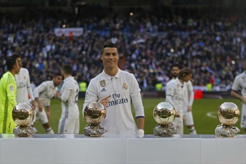 Oscar bong da 2017: Ronaldo doat giai Nam dien vien xuat sac nhat