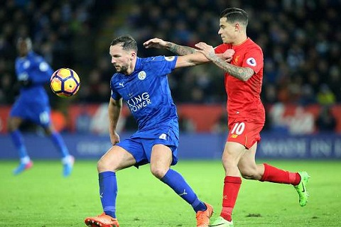 Liverpool thua dau Leicester Khi Coutinho khong the tao ma thuat hinh anh