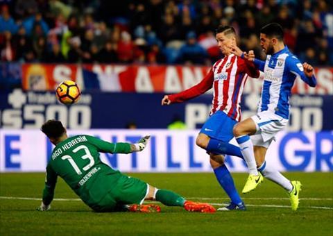 Tong hop Atletico Madrid 2-0 Leganes (Vong 21 La Liga 201617) hinh anh
