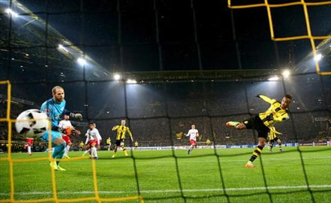 Tong hop Dortmund 1-0 RB Leipzig (Vong 19 Bundesliga 201617) hinh anh