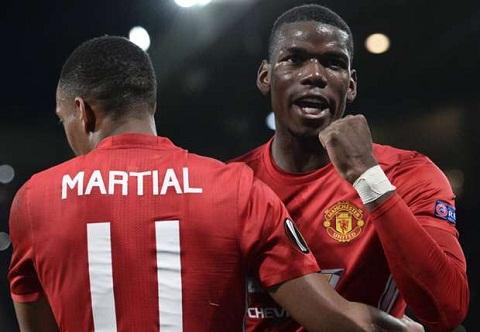 Pogba va Martial thieu ton trong cac dong doi o Man Utd hinh anh