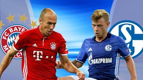 Nhan dinh Bayern Munich vs Schalke 02h45 ngay 23 (Cup quoc gia Duc 201617) hinh anh