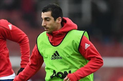 Mourinho ly giai viec som thay Mkhitaryan o tran hoa Rostov hinh anh