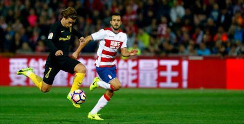 Tong hop Granada 0-1 Atletico Madrid (Vong 27 La Liga 201617) hinh anh