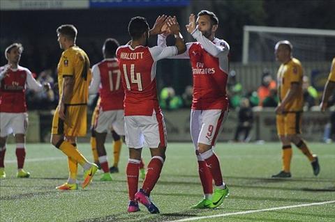 Nhung con so an tuong sau tran dau Arsenal 5-0 Lincoln hinh anh 2
