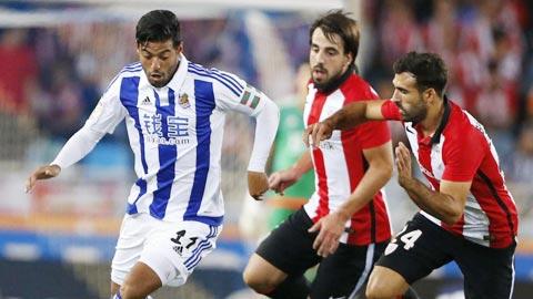 Nhan dinh Sociedad vs Bilbao 18h00 ngay 123 (La Liga 201617) hinh anh