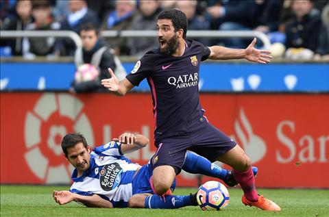 Deportivo 2-1 Barca Chet vi thieu phuong an B hinh anh 2