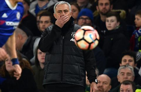 HLV Mourinho o tran voi Chelsea