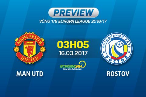 Preview Man Utd - Rostov