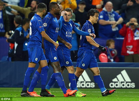 Tong hop Leicester City 2-0 Sevilla (Vong 18 Champions League 201617) hinh anh