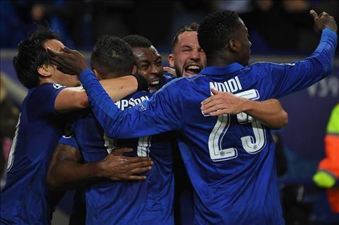 Nhung thong ke sau tran dau Leicester 2-0 Sevilla hinh anh