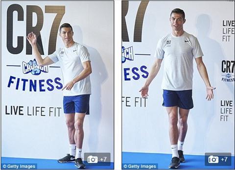 Ronaldo khai truong phong tap gym hinh anh