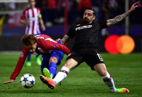Tong hop Atletico Madrid 0-0 Leverkusen (Vong 18 Champions League 201617) hinh anh