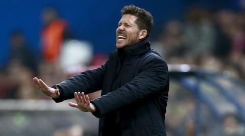HLV Diego Simeone khong quan tam den le boc tham phan cap tu ket Champions League.