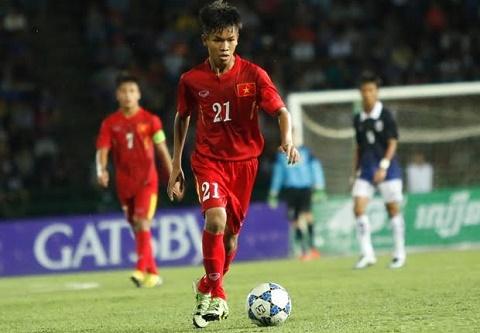 Chinh thuc Tien ve Huu Thang duoc goi vao U20 Viet Nam hinh anh
