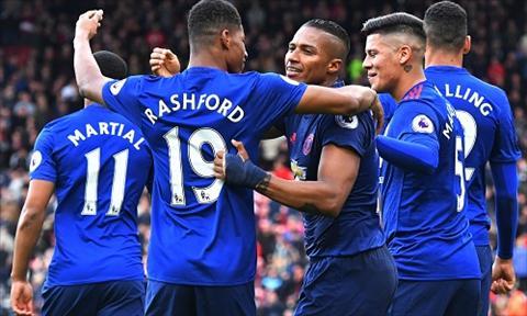 Vuot qua noi lo bi go hoa cuoi hiep hai, Man Utd bo tui ba diem quan trong. Anh: Reuters.