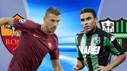 Roma vs Sassuolo 0h00 ngày 2712 (Serie A 201819) hình ảnh