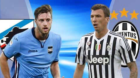 Nhan dinh Sampdoria vs Juventus 21h00 ngay 193 (Serie A 201617) hinh anh