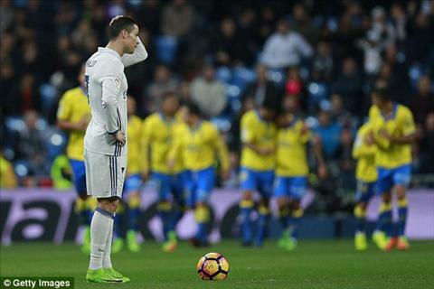 Ronaldo giup Real thoat hiem ngay tai Bernabeu voi cu dup vao cuoi tran
