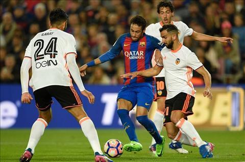 Barca 4-2 Valencia Lai la cau chuyen MSN lam, thu pha hinh anh