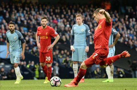 Thong ke Man City 1-1 Liverpool Milner lap ky luc Premier League hinh anh