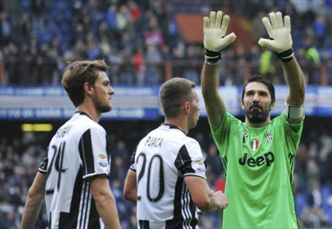 Thu mon Buffon lap ky luc moi trong chien thang cua Juventus hinh anh