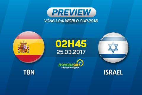 Tay Ban Nha vs Israel (2h45 ngay 253) San nha nang buoc La Roja hinh anh 2