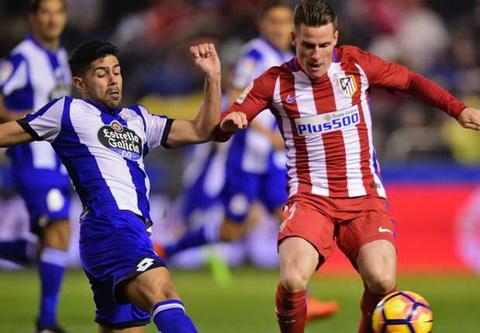 Vong 25 La Liga 201617 Atletico buoc hut, Sevilla ap sat ngoi dau hinh anh