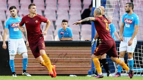 Nhan dinh AS Roma vs Napoli 21h00 ngay 43 (Serie A 201617) hinh anh