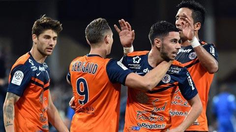 Montpellier vs Guingamp 0h00 ngày 44 (Ligue 1 201819) hình ảnh