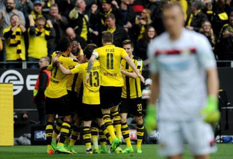 Tong hop Dortmund 6-2 Leverkusen (Vong 23 Bundesliga 201617) hinh anh