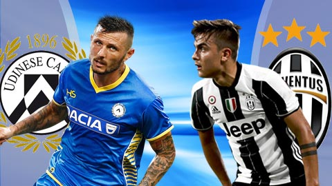 Nhan dinh Udinese vs Juventus 21h00 ngay 53 (Serie A 201617) hinh anh
