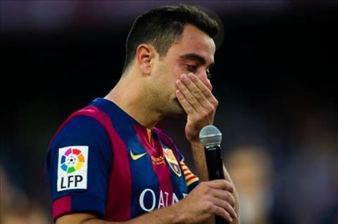 Xavi that vong voi con ngu gat cua Barcelona hinh anh