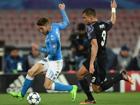 Napoli 1-3 Real Zidane va bai toan thay the Pepe hinh anh 2