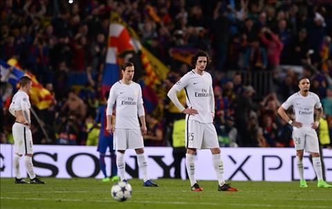 PSG that bai 1-6 truoc Barca