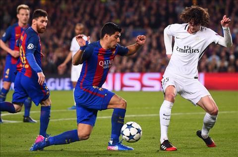 Barca vs PSG Suarez Rabiot