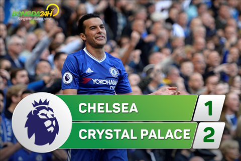 Chelsea 1-2 Crystal Palace (Vong 30 NHA 2016/17)